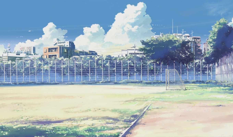 макото, синкай, обои, аниме, облака, совершенно, m