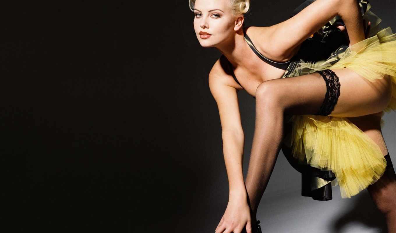 blonde, платье, чулки, актриса, девушка, celebrity, devushki,