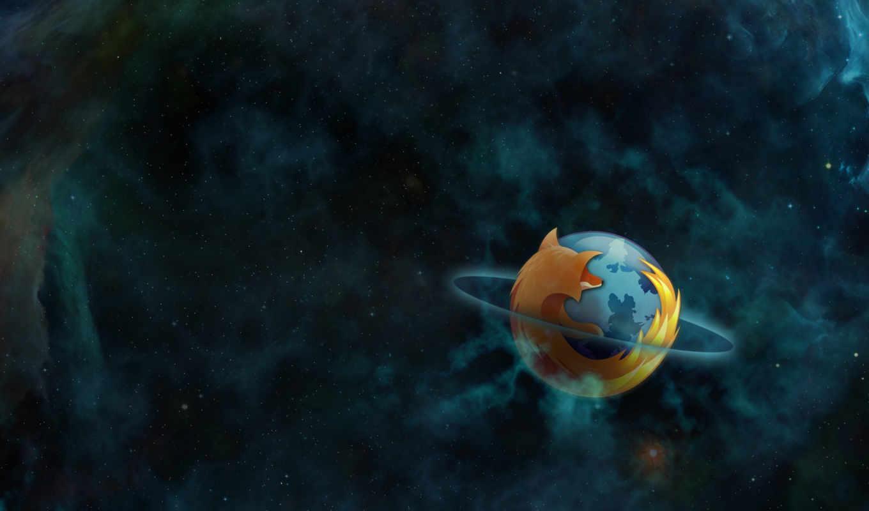 firefox, браузер, комос, сатурн, лого