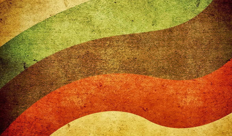 текстуры, радуга, ретро,