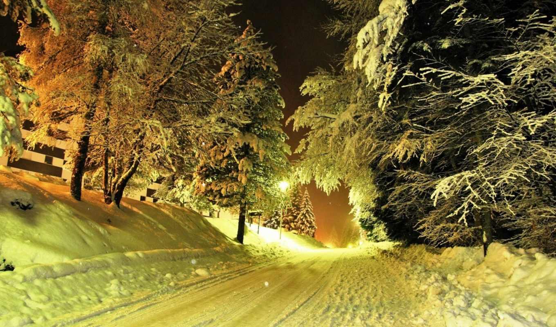 winter, зимних, красивая, дек, пейзажей, фотографий, красивейших, лес, природа,