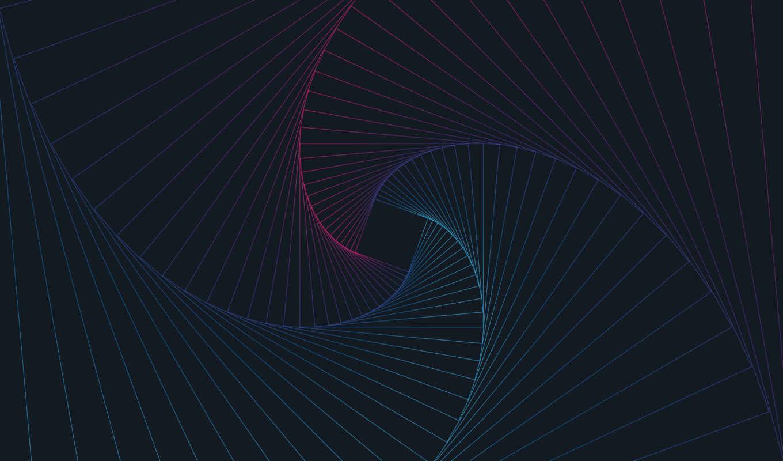 abstract, spiral, line, matebook