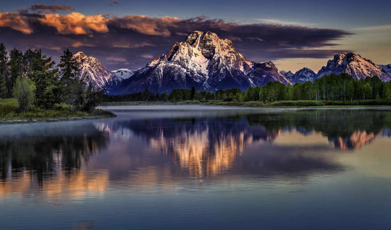 пейзажи -, природы, красивые, природа, самые, landscape, озеро, горы,