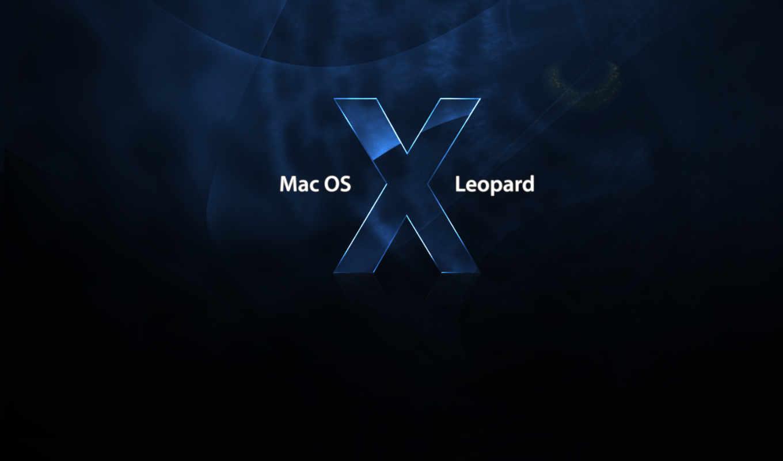 mac, леопард, you, снег,