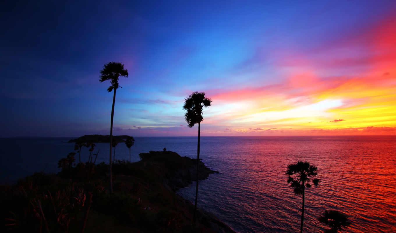 природа, таиланда, природы, full,