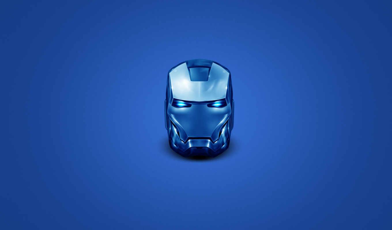 железный, человек, защита, шлем, костюм,