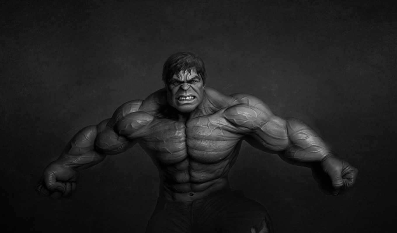 monster, халк, hulk, темноватый фон,