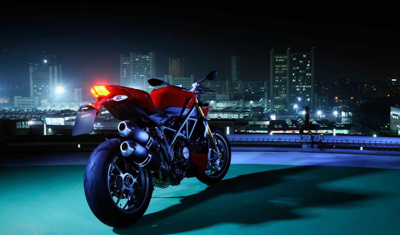 ducati, streetfighter, мотоцикл,