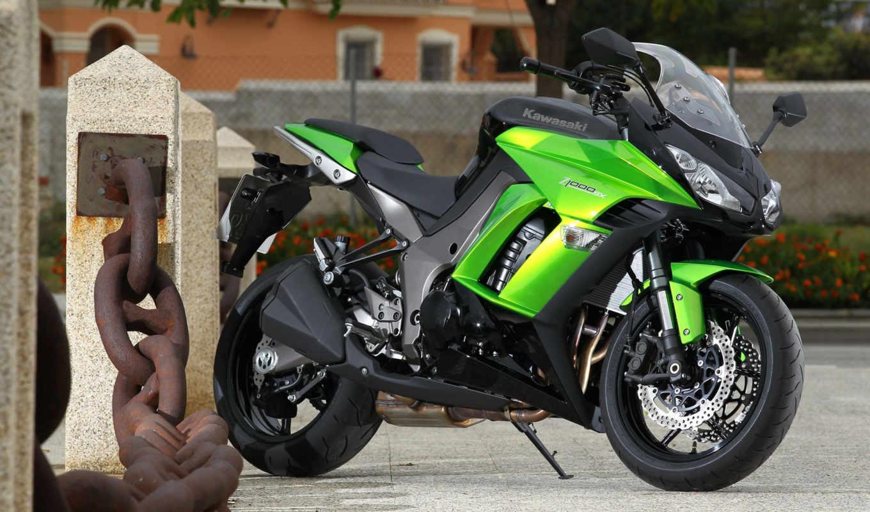 мотоциклы, kawasaki, мотоциклов, sx, причал, мотоцикл,,