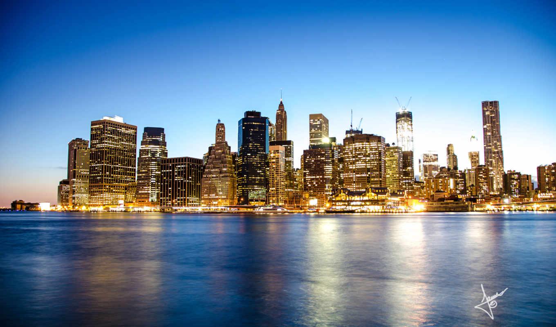 мост, бруклин, manhattan, york, new, desktop, high,