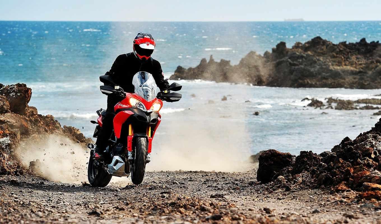 ducati, мотоцикл, multistrada, more,