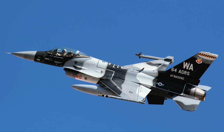 f-16, оружие, истребитель, самолёт, флаг,