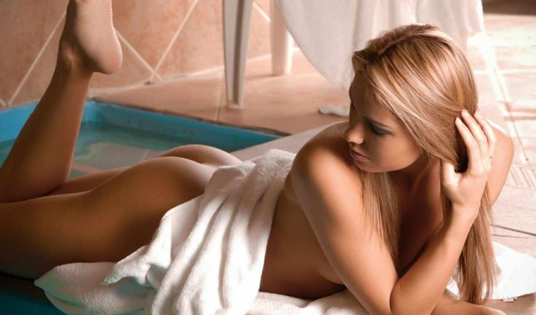 devushka, полотенце, попка, devushki, ножки, veronika, fasterova, обнаженная, модель,