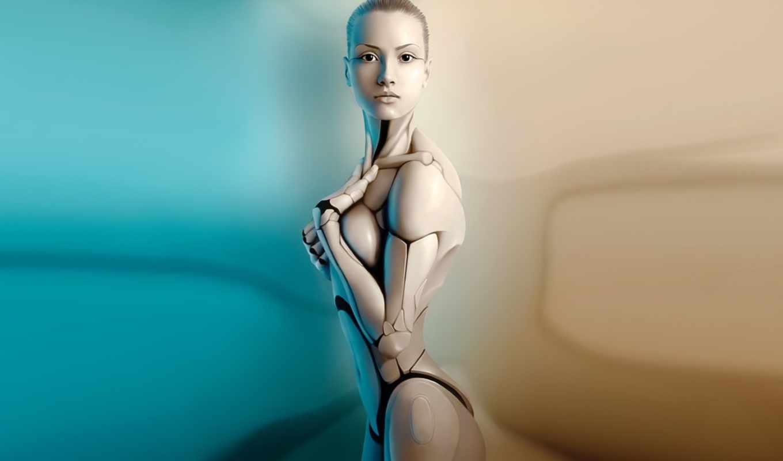 robot, девушка, android, тело, механизм, devushki,