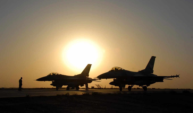 aviones, красиво, закат, военный, aardvark, guerra, fighting,