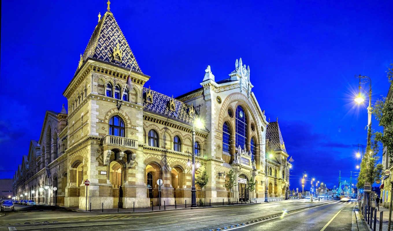hall, market, great, budapest, hungary, нидерланды, amsterdam,