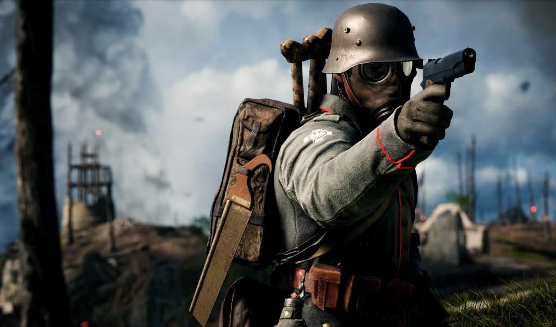 battlefield, игры, солдат, компьютерной, оружие,