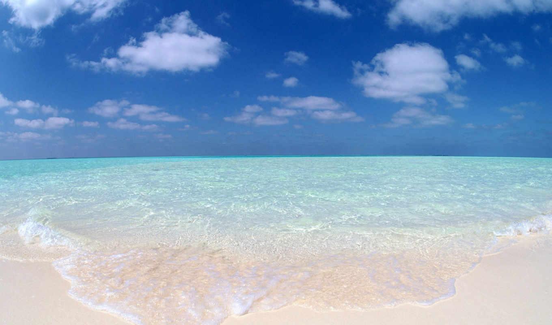 пляж, ocean, you, море, waves, ветер, summer,