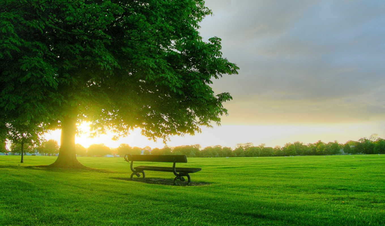 природа, картинку, oblaka, landscape,