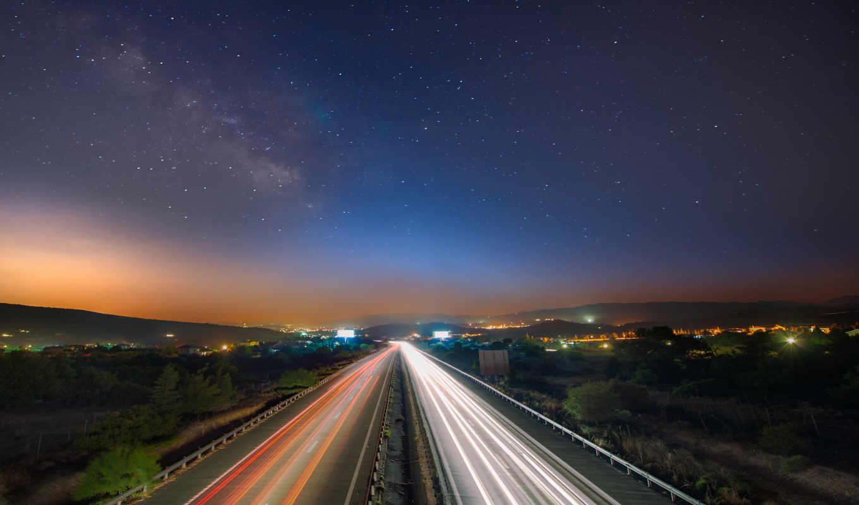 дорога, аварии, город, ночь, ipad, new, огни, взгляд,