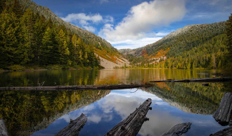 озеро, national, fore, permission, baker, snoqualmie, качественные, гора, park, hill