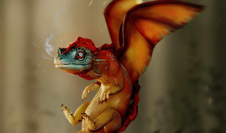 дракон, little