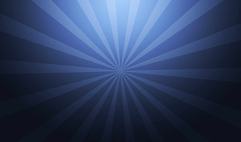 абстракция, лучи, abstract, креатив, линии, синий, абстракции,