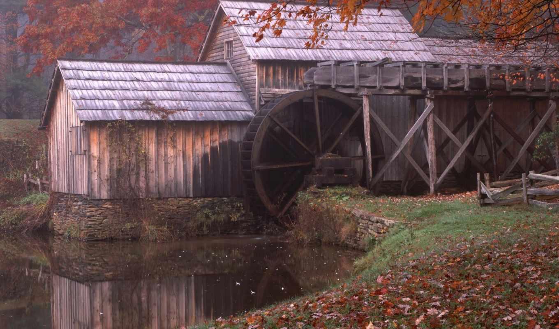 мельницы, mill, water, водяные,