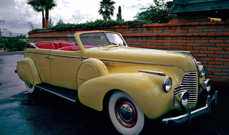 buick, кабриолет, roadmaster, ретро, спец, год,