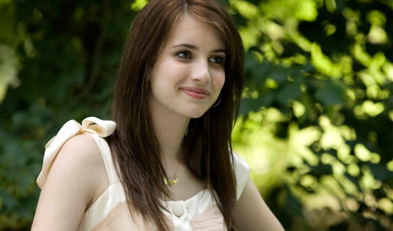 devushki, красивые, emma, girls, улыбка, самые, roberts, девушка, cute, desktop,