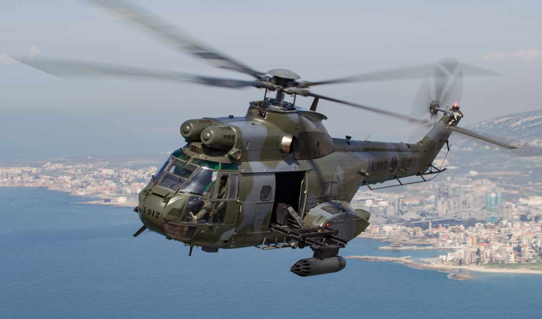 военный, вертолет, lebanon
