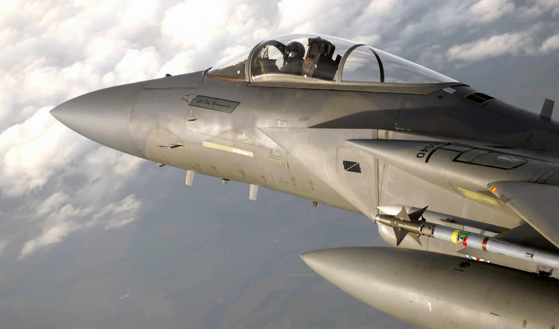 пилот, истребитель, кабина, eagle, aircraft, пилота, самолеты, douglas, mcdonnell,