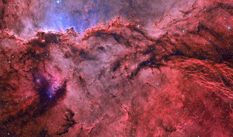 ngc, газ, туманность, эмиссионная, звезды,