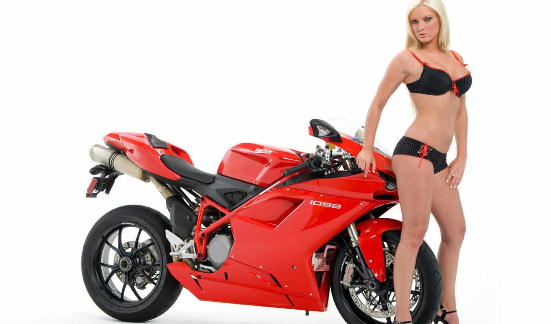 мотоциклы, красивые, девушек, добавлена, но, октября, подборка, мото, красивых, девушки,