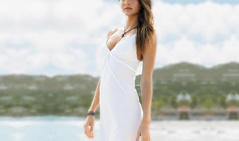 white, платье, девушка, керр, миранда, dresses, girls,