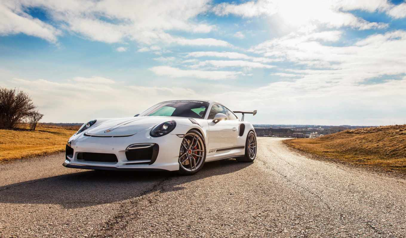 porsche, desktop, turbo, ultra, white,