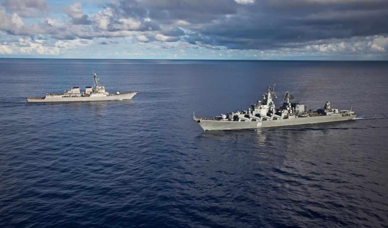 крейсер, эскадренный, ракетний, уро, варяг, картинка, картинку,