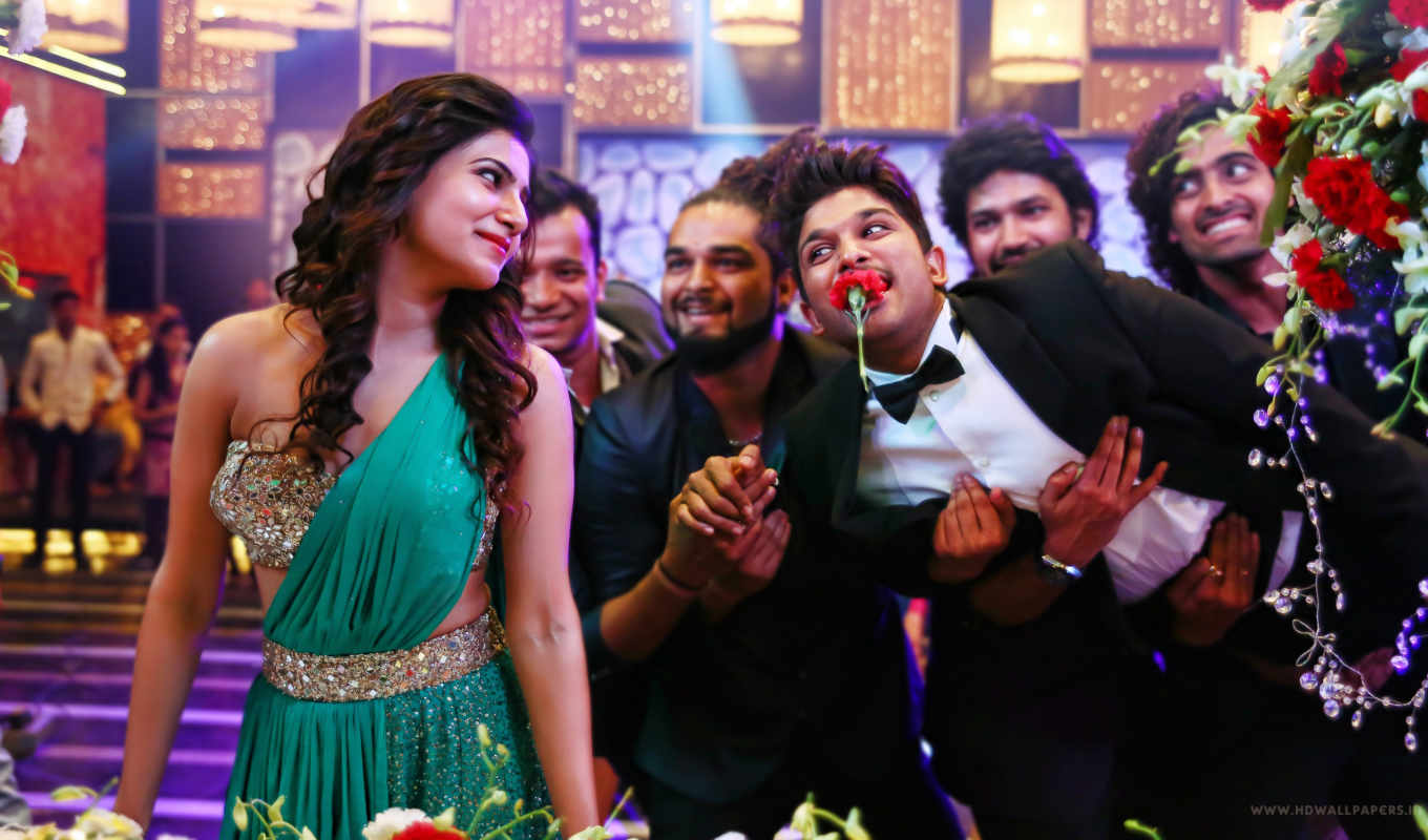 allu, arjun, son, samantha, satyamurthy, movie, new, sathyamurthy, latest, adah, sharma,