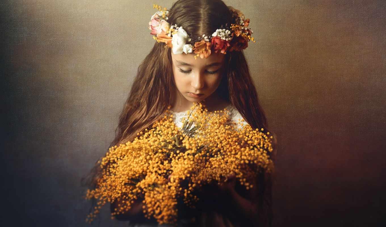images, flowers, девушка, cvety, fondos, portrait, фон,
