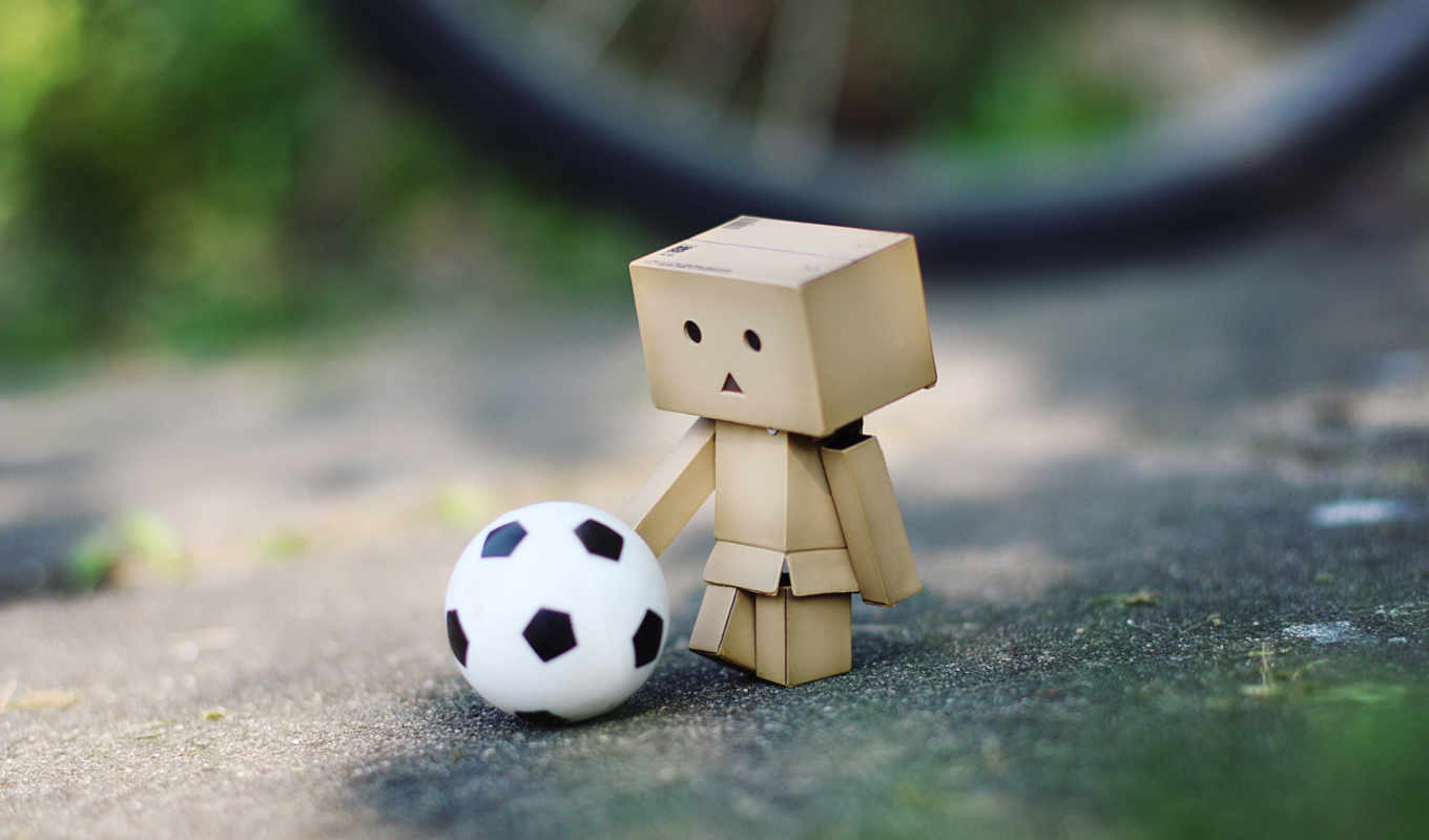danbo, amazon, футбол, мяч