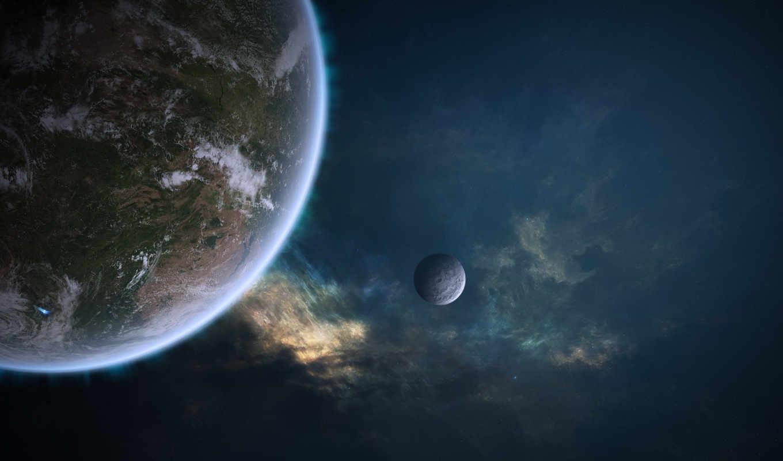 outer, artwork, space, planets, widescreen, арт, hoy, jorcj, escritorio,