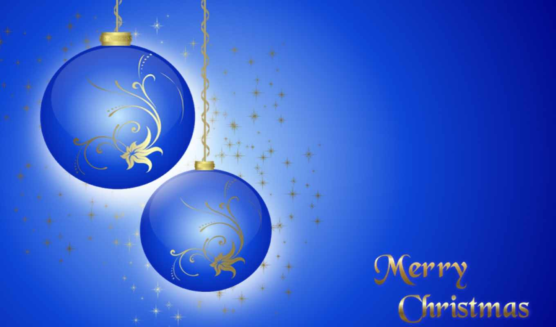 christmas, blue, background, merry, desktop,