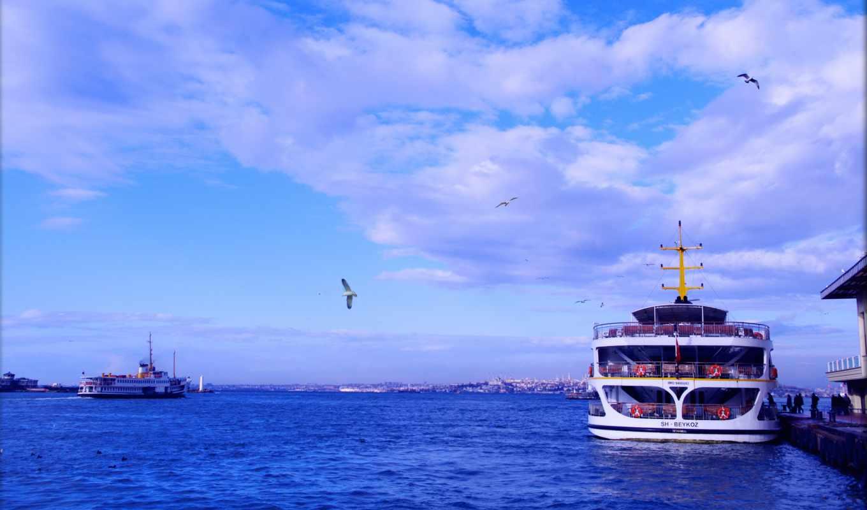 корабли, корабль, cruise, космос, море, чайки, город, needed,