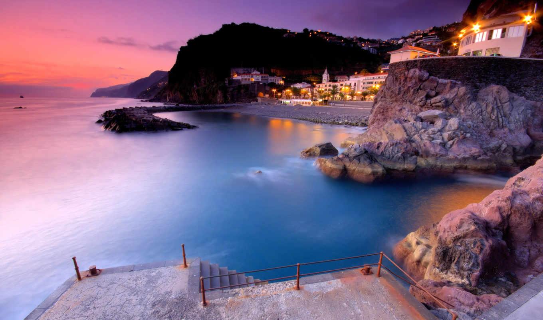 пляж, город, вечер, desktop, themes, категория, are, ultimate, served,