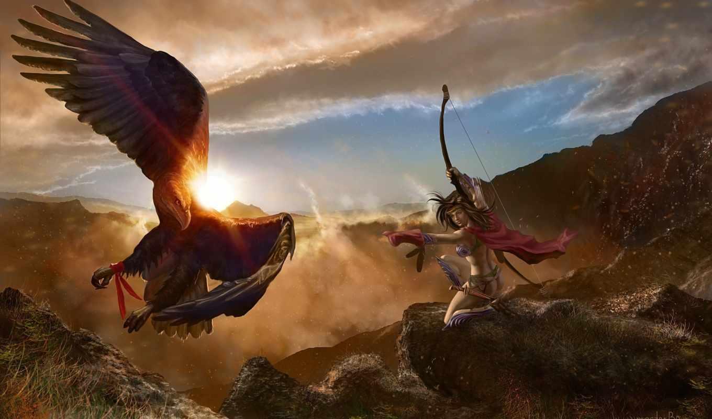 fantasy, archer, id,