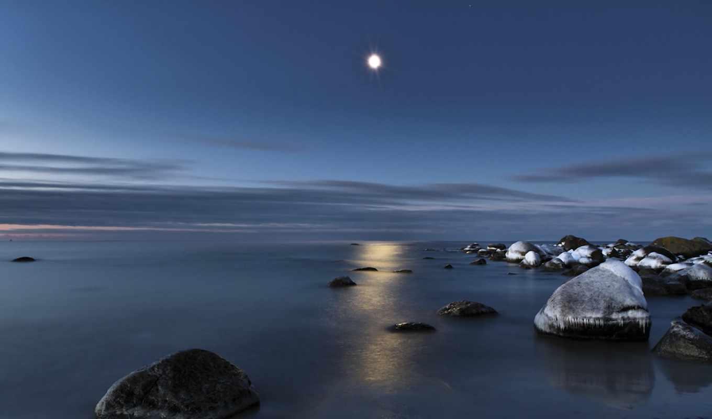 романтика, свет, луна, нравится, лунно,