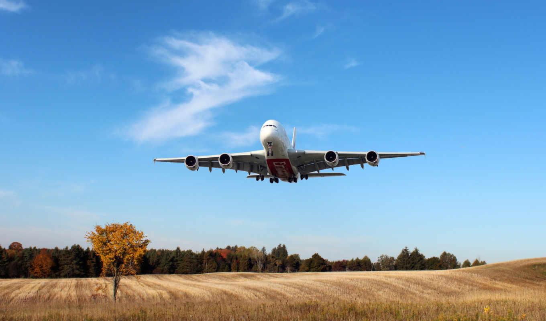 airbus, самолёт, iphone, airline, emirates,посадка,