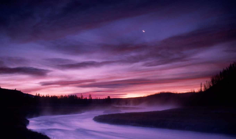 national, park, природа, yellowstone, wyoming, картинку, река,