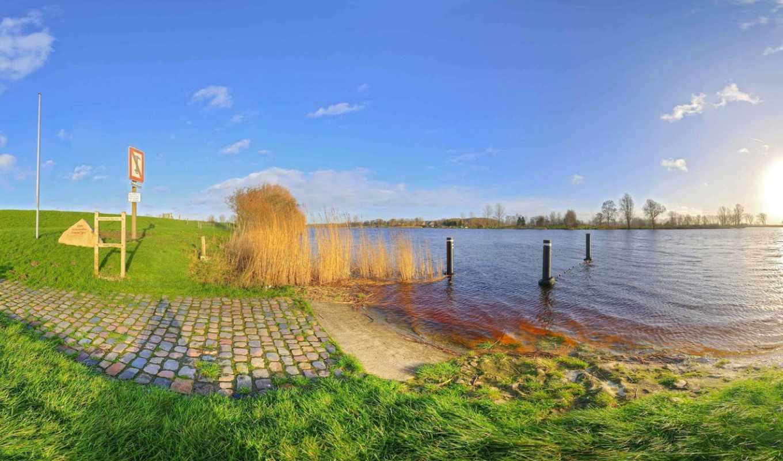 панорама, seamless, degree, панорамный, scenery, desktop, lakes,