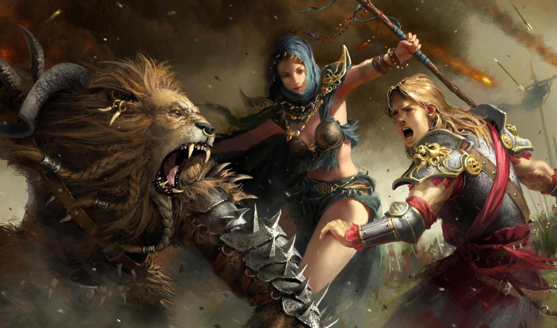 мужчина, lion, рыцарь, армия, маг, войны, sphira, битва, доспех, armour, люди,